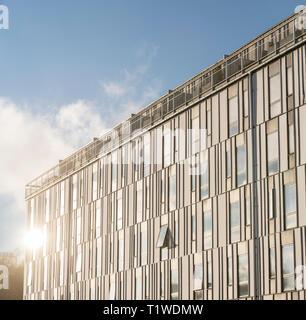 Detail of modern architecture in Rosendal. Uppsala. Sweden, Scandinavia. - Stock Photo