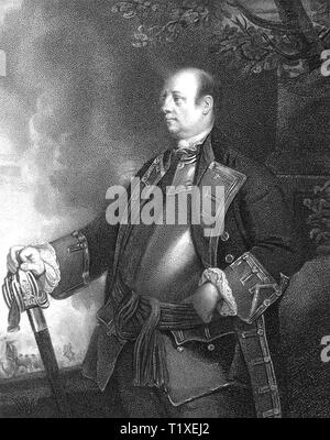 JOHN MANNERS, Marquess of Granby (1721-1770) British army commander - Stock Photo