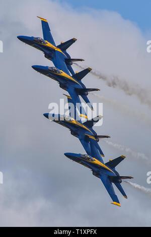 SALINAS, Calif  (March 23, 2019) The U S  Navy Flight