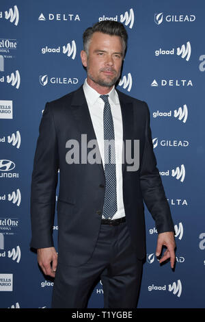 Beverly Hills, California, USA. 28th Mar 2019. Josh Duhamel at the 30th Annual GLAAD Media Awards held at the Beverly Hilton Hotel in Beverly Hills, CA on Thursday, March 28, 2019. Photo by PRPP/PictureLux Credit: PictureLux/The Hollywood Archive/Alamy Live News - Stock Photo