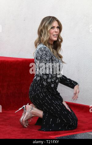 Los Angeles, CA, USA. 29th Mar, 2019. LOS ANGELES - MAR 29: Rita Wilson at the Rita Wilson Star Ceremony on the Hollywood Walk of Fame on March 29, 2019 in Los Angeles, CA at the induction ceremony for Star on the Hollywood Walk of Fame for Rita Wilson, Hollywood Boulevard, Los Angeles, CA March 29, 2019. Credit: Priscilla Grant/Everett Collection/Alamy Live News - Stock Photo