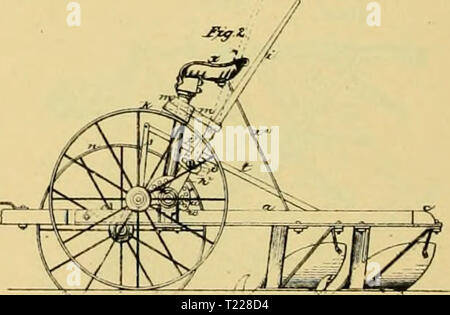 Archive image from page 897 of Digest of agricultural implements, patented Digest of agricultural implements, patented in the United States from A.D. 1789 to July 1881 ..  digestofagricult02alle Year: 1886  /r. l.ouijtr,<Ae.Uo  - Stock Photo