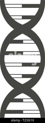 DNA helix logo design. - Stock Photo