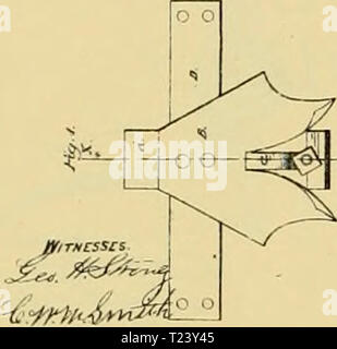 Archive image from page 373 of Digest of agricultural implements, patented - Stock Photo