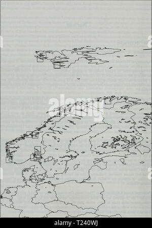 Archive image from page 497 of Directory of Wetlands of International - Stock Photo