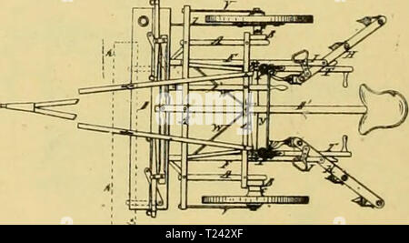 Archive image from page 563 of Digest of agricultural implements, patented - Stock Photo