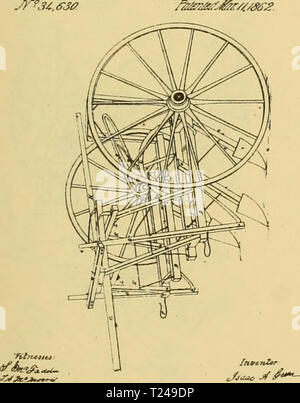 Archive image from page 428 of Digest of agricultural implements, patented Digest of agricultural implements, patented in the United States from A.D. 1789 to July 1881 ..  digestofagricult02alle Year: 1886 - Stock Photo