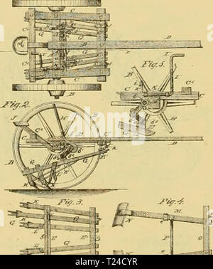 Archive image from page 651 of Digest of agricultural implements, patented - Stock Photo