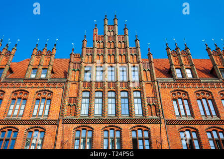 Old Town Hall or Altes Rathaus in Hannover city, Germany - Stock Photo