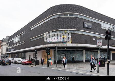 empty BHS store in Sauchiehall Street, Glasgow, Scotland, UK - Stock Photo