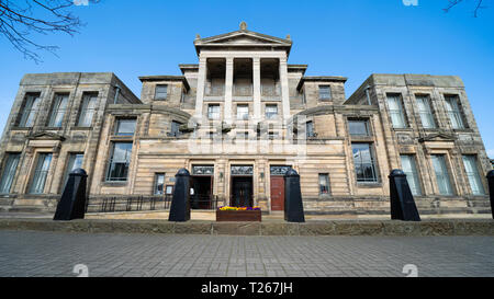 Exterior of Younger Hall at St Andrews University in St Andrews, Fife, Scotland, UK - Stock Photo