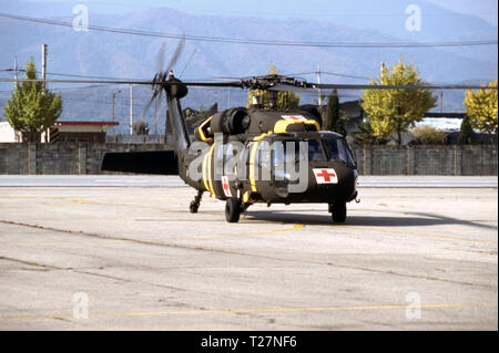 US ARMY / United States Army Sikorsky UH-60A Black Hawk - Stock Photo
