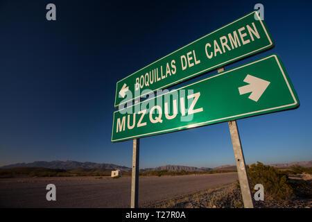, Mpo. Ocampo, Coahuila, Mexico - Stock Photo