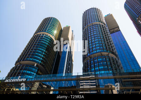 Another great example of Sydney's sustainable office buildings is the Accenture building in Barangaroo, Sydney. The company is situated in  Internatio - Stock Photo