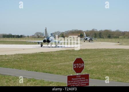 Eurofighter Typhoon, Multirole fighter Jet - Stock Photo
