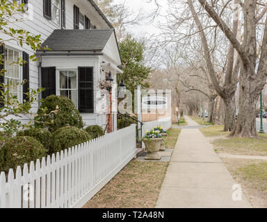 the 1770 House in East Hampton, NY - Stock Photo