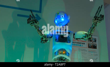 Funny humanoid robot - Stock Photo