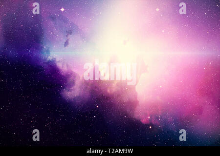 Deep space. High definition star field background . Starry outer space background texture . Colorful Starry Night Sky Outer Space background - Stock Photo