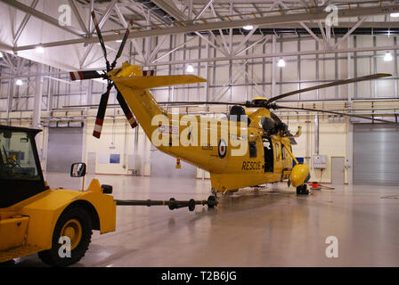 Westland WS-61 Sea King, RAF Search and Rescue, RAF Leconfield - Stock Photo
