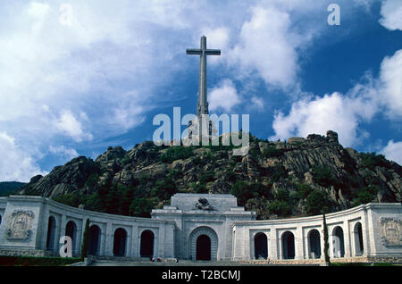 Valley of the Fallen,San Lorenzo,Spain - Stock Photo