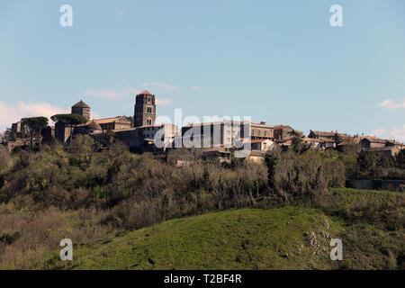 Caserta Vecchia Panorama - Stock Photo