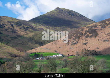 Causey Pike, Newlands Valley, Cumbria - Stock Photo