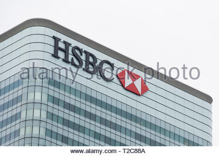 File photo dated 23/11/16 of HSBC's UK headquarters, in Canary Wharf