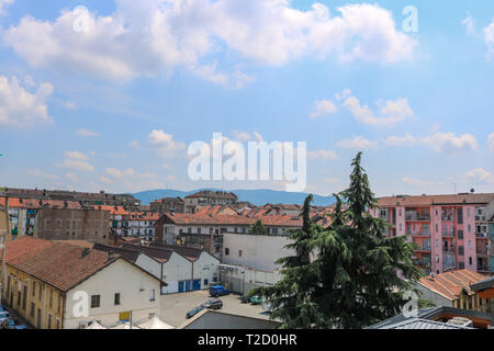 I have taken this photo in July 2018 during my visit to Torino - Stock Photo