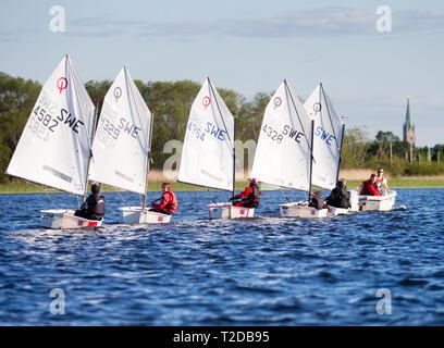 A sailing school. Photo Jeppe Gustafsson - Stock Photo