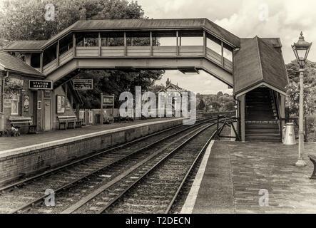 Bewdley Station, Severn Valley Railway - Stock Photo