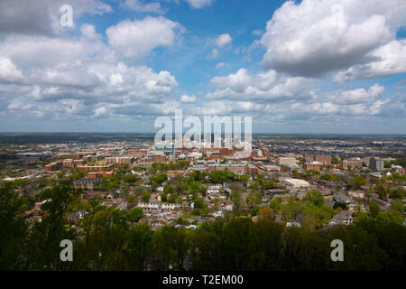 USA Alabama Birmingham overview of the southern city AL - Stock Photo