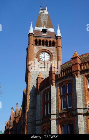 The Town Hall, Reading, Berkshire, UK - Stock Photo