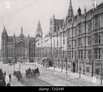 Old Palace Yard, Westminster - Stock Photo