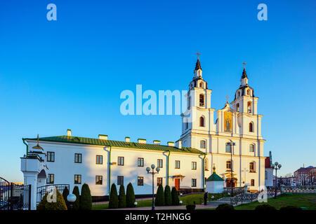 Holy Spirit Cathedral, Minsk, Belarus, Eastern Europe - Stock Photo