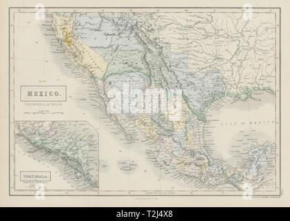 MEXICO CALIFORNIA TEXAS  Gold rush district  TX Republic