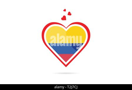 Colombia Country Flag Inside Country Border Map Design Suitable For A Logo Icon Design Stock Vector Image Art Alamy