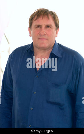 CANNES, FRANCE. May 10, 2000:  French actor Gerard Depardieu at the Cannes Film Festival where his new movie - Vatel - is the opening night film . Picture: Paul Smith/Featureflash - Stock Photo