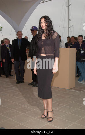 CANNES, FRANCE. May 11, 2000:  Actress Monica Bellucci at the Cannes Film Festival to promote her new movie Under Suspicion. Picture: Paul Smith/Featureflash - Stock Photo