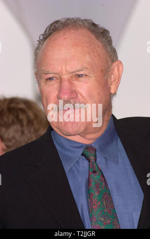 CANNES, FRANCE. May 11, 2000:  Actor Gene Hackman at the Cannes Film Festival to promote his new movie Under Suspicion. Picture: Paul Smith/Featureflash - Stock Photo