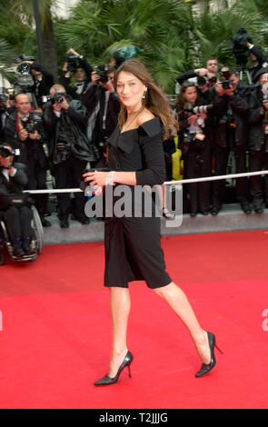 CANNES, FRANCE. May 10, 2000:  Supermodel Carla Bruni at the opening night gala screening of Vatel at the Cannes Film Festival. Picture: Paul Smith/Featureflash - Stock Photo