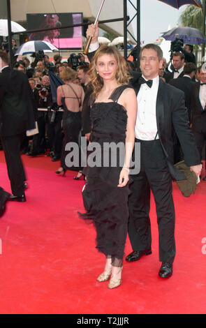 CANNES, FRANCE. May 10, 2000:  Actress Calista Flockhart at the opening night gala screening of Vatel at the Cannes Film Festival. Picture: Paul Smith/Featureflash - Stock Photo