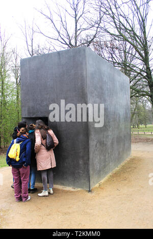Memorial to Homosexuals Persecuted Under Nazism - Stock Photo