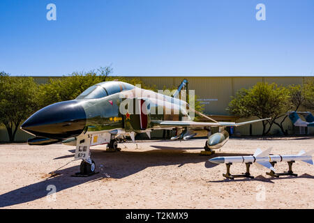 McDonnell Douglas F-4C Phantom II - Stock Photo