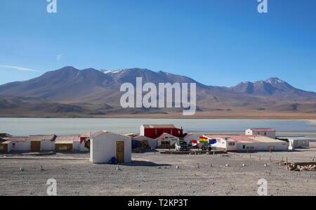 UYUNI, BO - CIRCA OCT 2018 - Andean altiplano of Bolivia, South America - Stock Photo