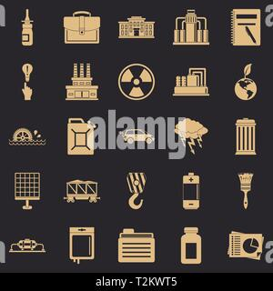 Outgoings icons set. Simple set of 25 outgoings vector icons for web for any design - Stock Photo