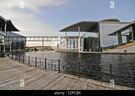 Federal Chancellery, Berlin, Germany - Stock Photo