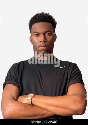 Daniel Sturridge Liverpool FC footballer. - Stock Photo