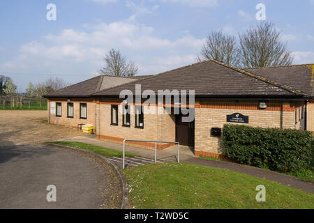 The village hall, Cosgrove, Northamptonshire, UK - Stock Photo