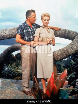 SOUTH PACIFIC 1958 de Joshua Logan Rossano Brazzi Mitzi Gaynor. d'apres le roman de James Michener 'Tales of the South Pacific' based on the novel 'Ta - Stock Photo