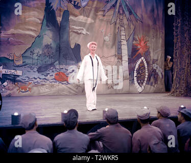 SOUTH PACIFIC 1958 de Joshua Logan Mitzi Gaynor. d'apres le roman de James Michener 'Tales of the South Pacific' based on the novel 'Tales of the Sout - Stock Photo